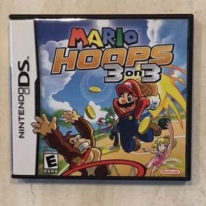 Mario Hoops 3 on 3 Game